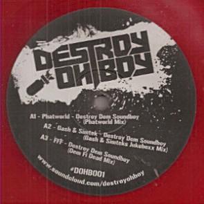 Various - Destroy Dem Soundboy - Destroy Oh Boy - DOHB001