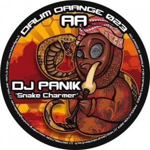 DJ Panik / DJ Yox - Snake Charmer / Leaving Earth - Drum Orange - DRUM ORANGE 023