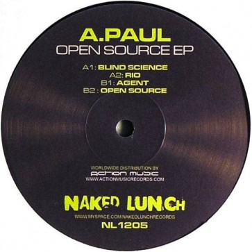 A. Paul - Open Source EP - Naked Lunch - NL1205