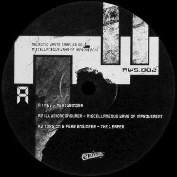 Various - Neurotic Waste Sampler 002: Miscellaneous Ways Of Improvement - Neurotic Waste - NWS.002