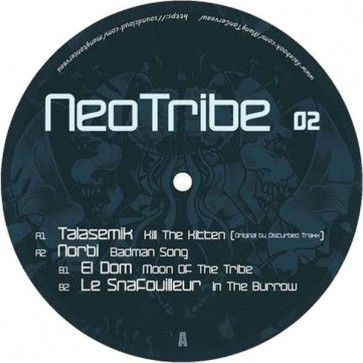 Various - NeoTribe 02 - Mang'ton cerveau - Neotribe 02
