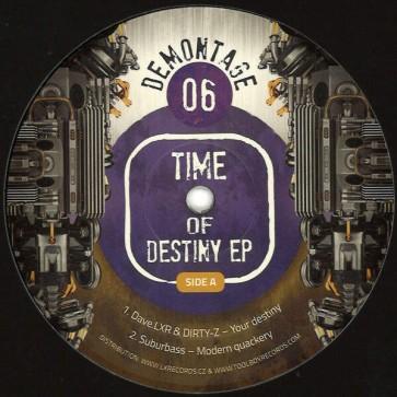Various - Time Of Destiny EP - Demontage - DMT06