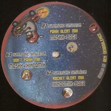 Ixindamix , Maskk , Bagz - Supersonic Simulator - Hydrophonic Records - HYDROPHONIC 34
