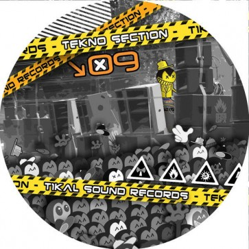 Various - Tekno Section 09 - Tikal Sound Records - 09