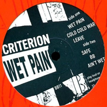 Criterion - Wet Pain - Broklyn Beats - BB11