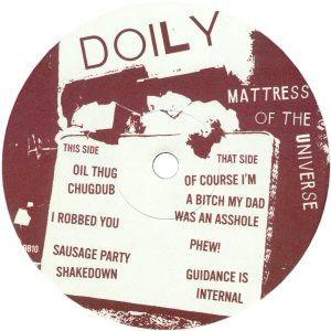 Doily - Mattress Of The Universe - Broklyn Beats - BB10