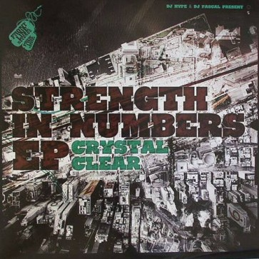 Crystal Clear - Strength In Numbers EP - Frontline Records - FRONT100