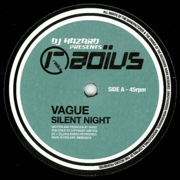 Vague - Silent Night / Play The Game - Radius Recordings - RADIUS016