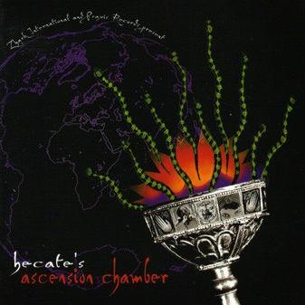 Hecate - Ascension Chamber - Praxis - Praxis 40 CD, Zhark International - zhark cd 004