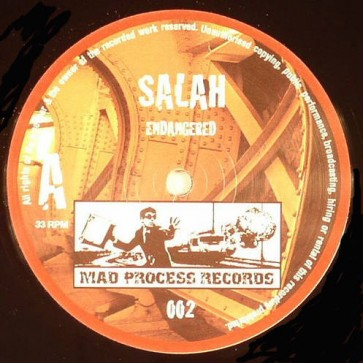 Salah - Endangered - Mad Process Records - Madprocess02