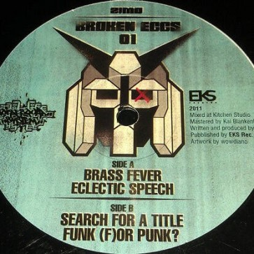 Zeemo - Broken Eggs 01 - EKS Records - EKS