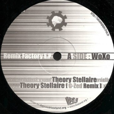 Woxo vs. G-Zed - Remix Factory EP - H2T Records - H2T 01