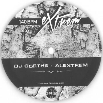 DJ Goethe / Alextrem - Untitled - P'tit Gris Records - P'TIT GRIS 09