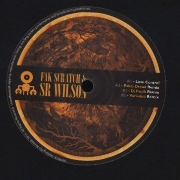 Fak Scratch & Sr. Wilson - Lose Control E.P. - Melting Pot - MPR019