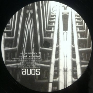 Noize Creator - In Memory Of - Active Underground - AU05