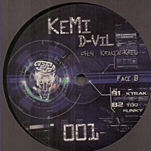 KeMi D-ViL pH:4 - Untitled - Kraken Krew - KEMI 01