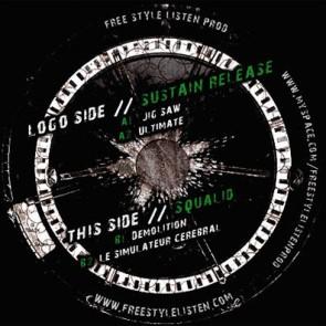 Sustain Release / Squalid - Jig Saw - K-soce - K.soce06