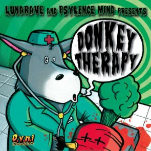 Lunarave & Psylence Mind - Donkey Therapy - O.V.N.I Records - OVNIREC026CD