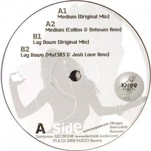 Tiago S - Medium / Lay Down - Kazoo Records - KZO 04