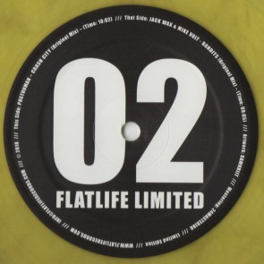 Jack Wax & Mike Volt / Posthuman - Flatlife Limited 02 - Flatlife Limited - FLATLTD 002