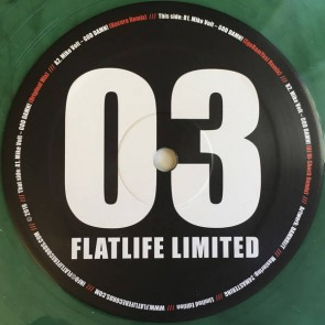 Mike Volt - God Damn! - Flatlife Limited - FLATLTD 003