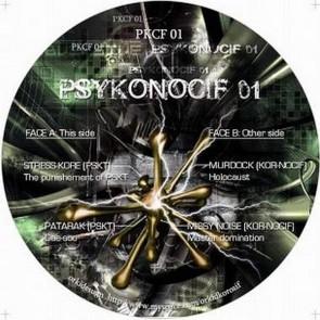 Various - Psykonocif 01 - Kornocif - PKCF 01, PSKT - PKCF 01
