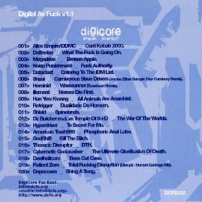 Various - Digital As Fuck v1.1 - Digicore Far East - DCFE002