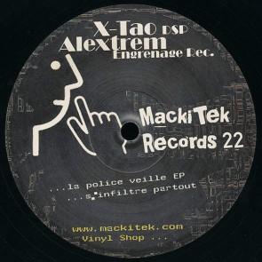 Various - ...La Police Veille EP...S'Infiltre Partout - Mackitek Records - Mackitek Records 22