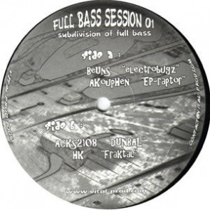 Various - Full Bass Session 01 - Full Bass Session - FBS01