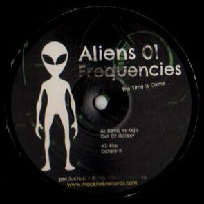 Various - Aliens Frequencies 01 - Mackitek Records - Aliens Frequencies 01