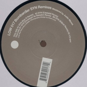Bombardier - Syn Remixes - Low Res Records - LOW 017
