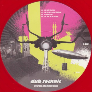 Anti Hi-Fi - Electric Lazy EP - Dub Technic - DT 07