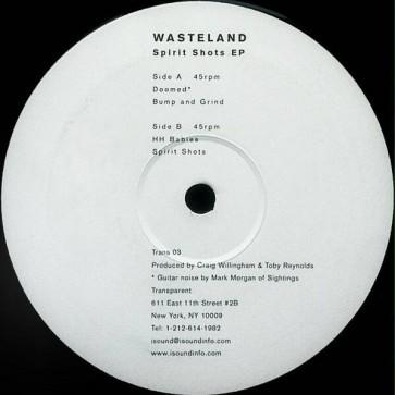 Wasteland - Spirit Shots EP - Transparent - Trans 03