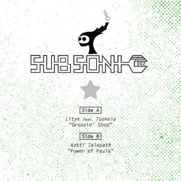 Lityk Feat. Tuonela / Kotti Telepath - Subsonic 002 - Subsonic - Subsonic 002