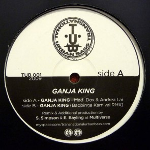 Mad_Dox & Andrea Lai - Ganja King - Transnational Urban Bass - TUB 001