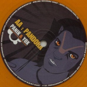 DJ Panik - Pandora / Close Your Eyes - Drum Orange - DRUM ORANGE 016, ES Production - DRUM ORANGE 016