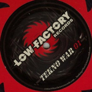 Various - Tekno War 01 Crusher EP  - Low Factory Records - LFTW01