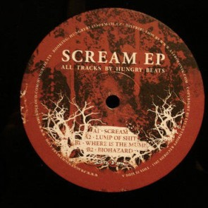 Hungry Beats - Scream EP - Lycanthropy Records - LYC01
