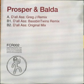 Prosper & Balda - D'All Ass - Funky Cactus Recordings - FCR002