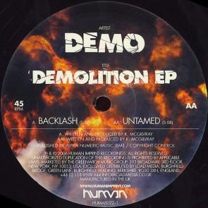 Demo - Demolition EP - Human Imprint Recordings - HUMA8022-1